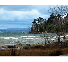 Just Past the Montreal Harbor area - Northern Ontario - Lake Superior Photographic Print