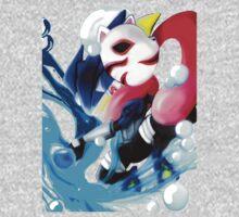 Pokemon Anbu Greninja  One Piece - Long Sleeve