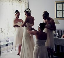 Dressing the Bride by Vanessa Norris