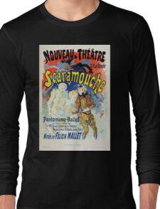 Les Affiches Illustrees 1886 1895 Ouvrage Orne de 64 Ernest Maindron Jules Cheret 1896 0101 Noveau Theatre Long Sleeve T-Shirt