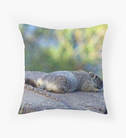 Bored... Throw Pillow