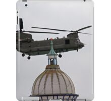Chinook at the Eastbourne Airbourne show 2015 iPad Case/Skin