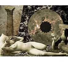 the birth...or death...of Venus Photographic Print