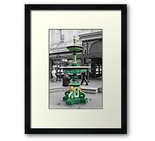 Adelaide Arcade Fountain Framed Print