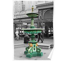 Adelaide Arcade Fountain Poster