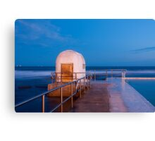 Merewether Pump House Canvas Print