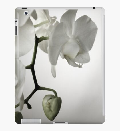 Orchid in White iPad Case/Skin