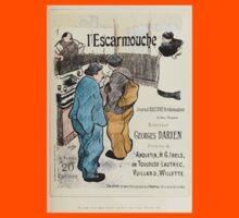 Les Affiches Illustrees 1886 1895 Ouvrage Orne de 64 Ernest Maindron Jules Cheret 1896 0195 L'Escarmouche Kids Tee