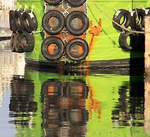 """""""Green Reflections""""   Fremantle, Western Australia by Chris Luget"""