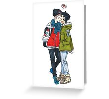 Kiss Greeting Card