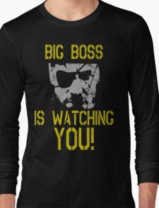 Big Boss Is Watching You! Long Sleeve T-Shirt