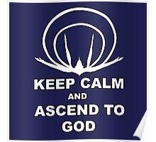 Evangelion- Ascend to God Poster