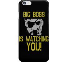 Big Boss Is Watching You! iPhone Case/Skin