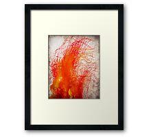 lingering Framed Print
