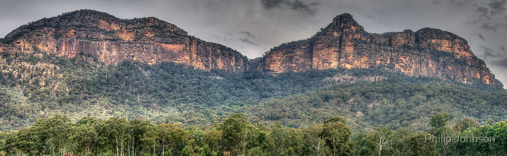 Rock Of Ages - Capertee Valley, NSW Australia - The HDR Experience by Philip Johnson