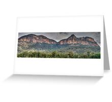 Rock Of Ages - Capertee Valley, NSW Australia - The HDR Experience Greeting Card
