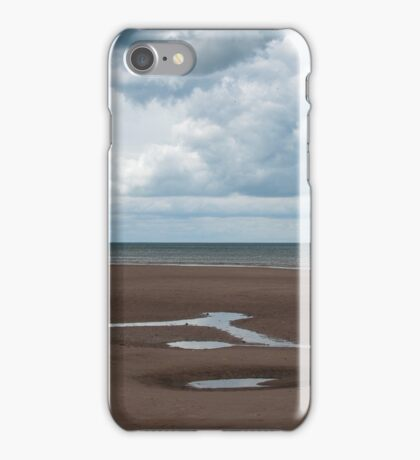 Big Skies and Beautiful Beaches 1 - Brancaster, Norfolk iPhone Case/Skin
