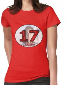 Jules Bianchi Tribute Womens Fitted T-Shirt