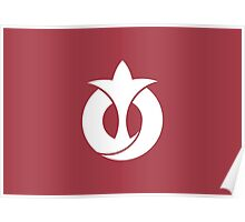 Flag of Aichi Prefecture Japan Poster