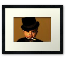 """Yes Sir ! That's My Baby ...!"" Framed Print"