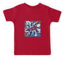 Comic Book YES! Kids Tee