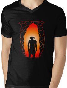 Skyblivion Mens V-Neck T-Shirt