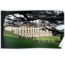 Wentworth Castle Mansion, Barnsley, Grade 1 Listed English Heritage Poster