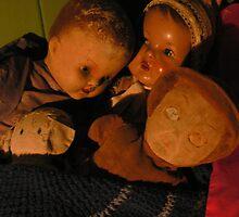 Sonia's childhood Dolls by Anthony Sarow