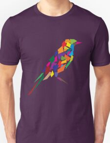 Colorful Abstract Bird T-Shirt