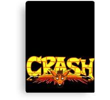 The Crash Canvas Print