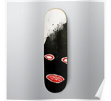 SIMPLY Skateboarding hand painted deck 01 Poster