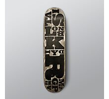 SIMPLY Skateboarding hand painted deck 02 Photographic Print