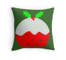 Christmas Pud Throw Pillow