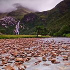 Steall Falls by James Grant