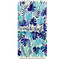 Tropical Wanderlust – Blue iPhone Case/Skin