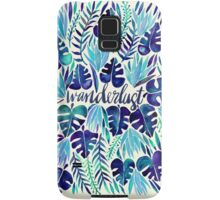 Tropical Wanderlust – Blue Samsung Galaxy Case/Skin