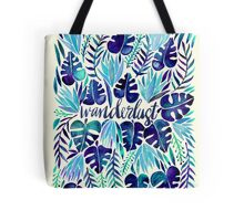 Tropical Wanderlust – Blue Tote Bag