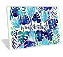 Tropical Wanderlust – Blue Laptop Skin