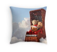 Bear's Winter Holidays Pillow Throw Pillow