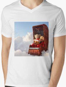 Bear's Winter Holidays Pillow Mens V-Neck T-Shirt
