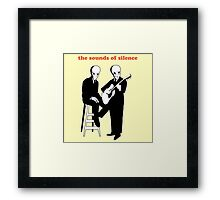 The sounds of silence Framed Print