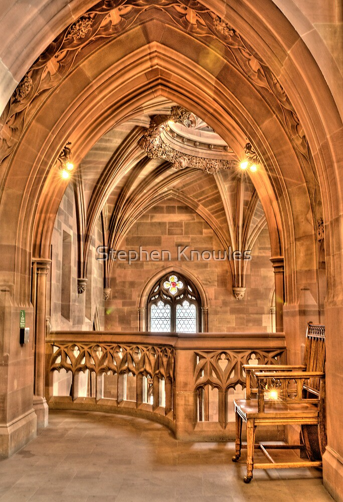 John Rylands Library, Manchester by Stephen Knowles