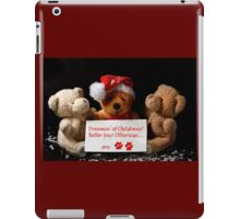 Merry Christmas? iPad Case/Skin
