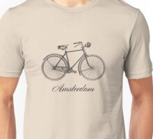 Amsterdam on Bike Unisex T-Shirt