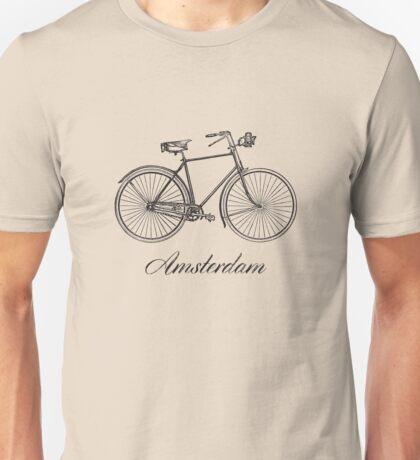 Amsterdam on Bike Unisex T-Shirt