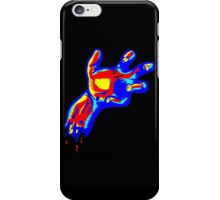 Zombies Blood Hand iPhone Case/Skin