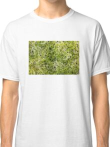 Clover sprouts background Classic T-Shirt