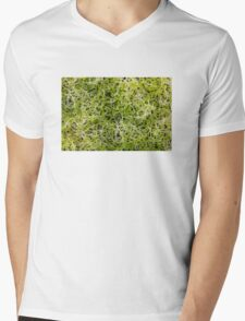 Clover sprouts background Mens V-Neck T-Shirt