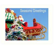 Seasons Greetings Art Print