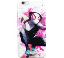 Spider-Gwen - Splatter Art iPhone Case/Skin